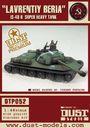 """Dust Tactics: IS-48 Super-Heavy Tank - """"Lavrentiy Beria / Karl Marx"""""""