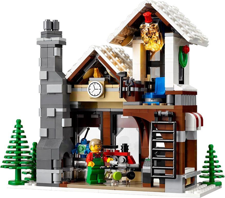 Winter Toy Shop back side