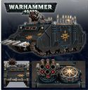 Warhammer 40.000 Chaos Space Marines Rhino back of the box