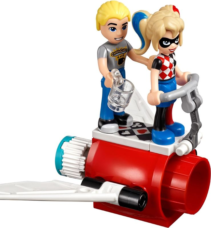LEGO® DC Superheroes Harley Quinn™ to the rescue minifigures