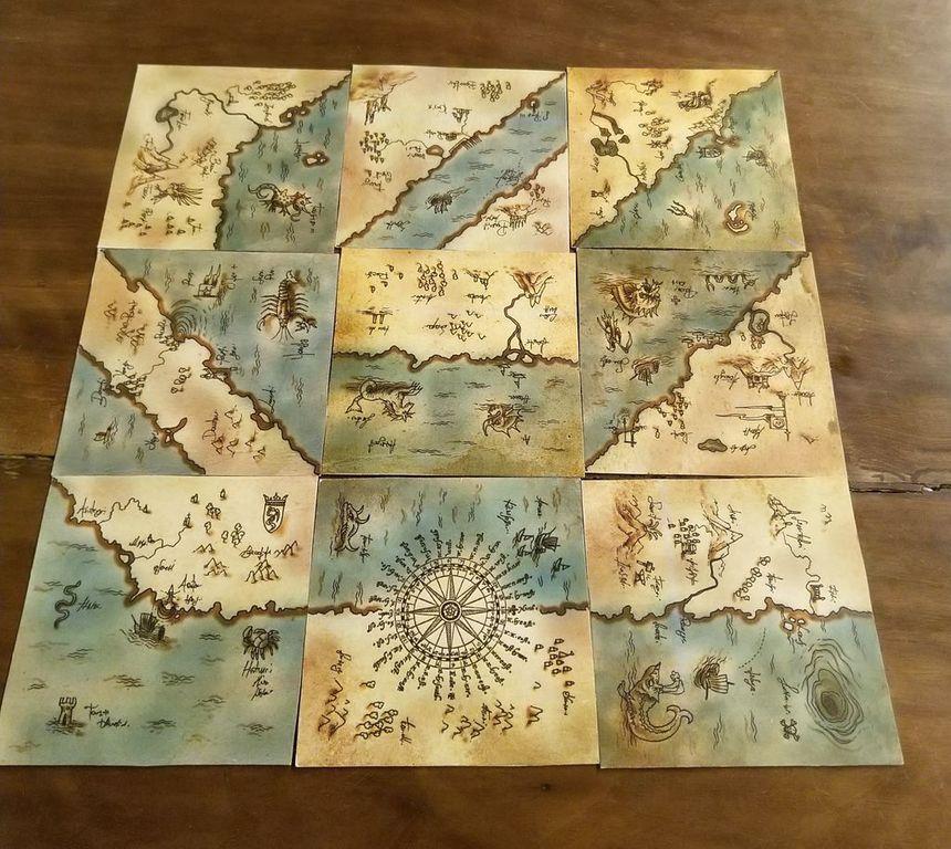 Chartae tiles