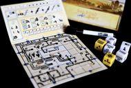 Railroad Ink Challenge: Shining Yellow Edition gameplay