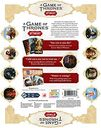 A Game of Thrones: B'Twixt back of the box