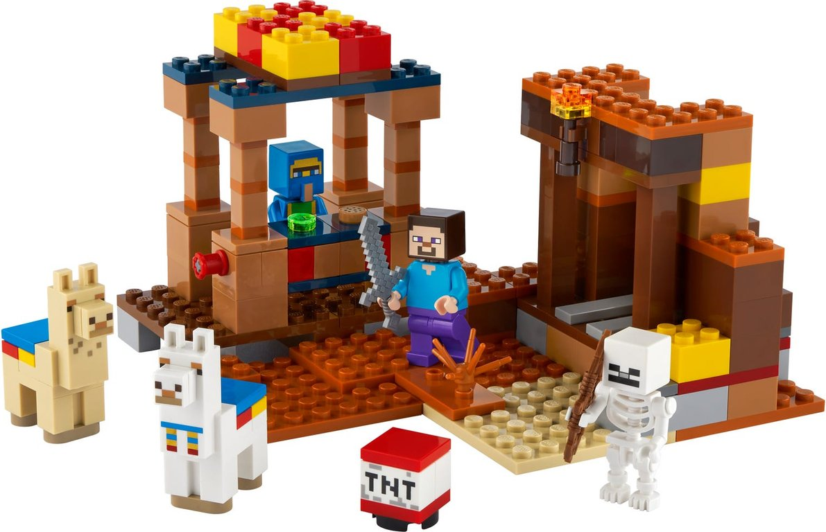 LEGO® Minecraft The Trading Post components