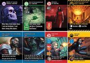 The Dresden Files Cooperative Card Game cards