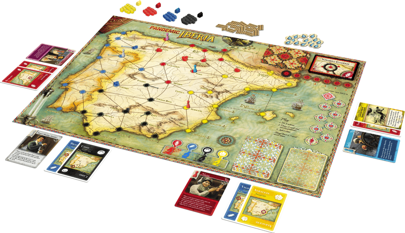 Pandemic Iberia components