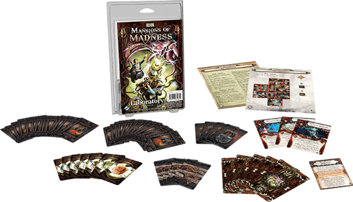Mansions of Madness The Laboratory components