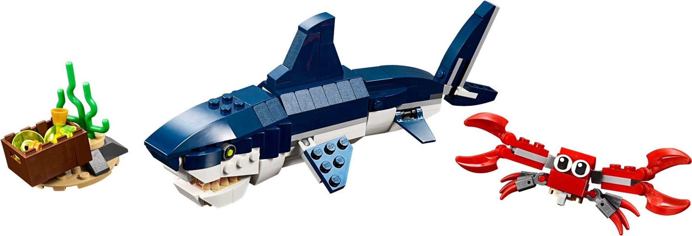 Deep Sea Creatures components