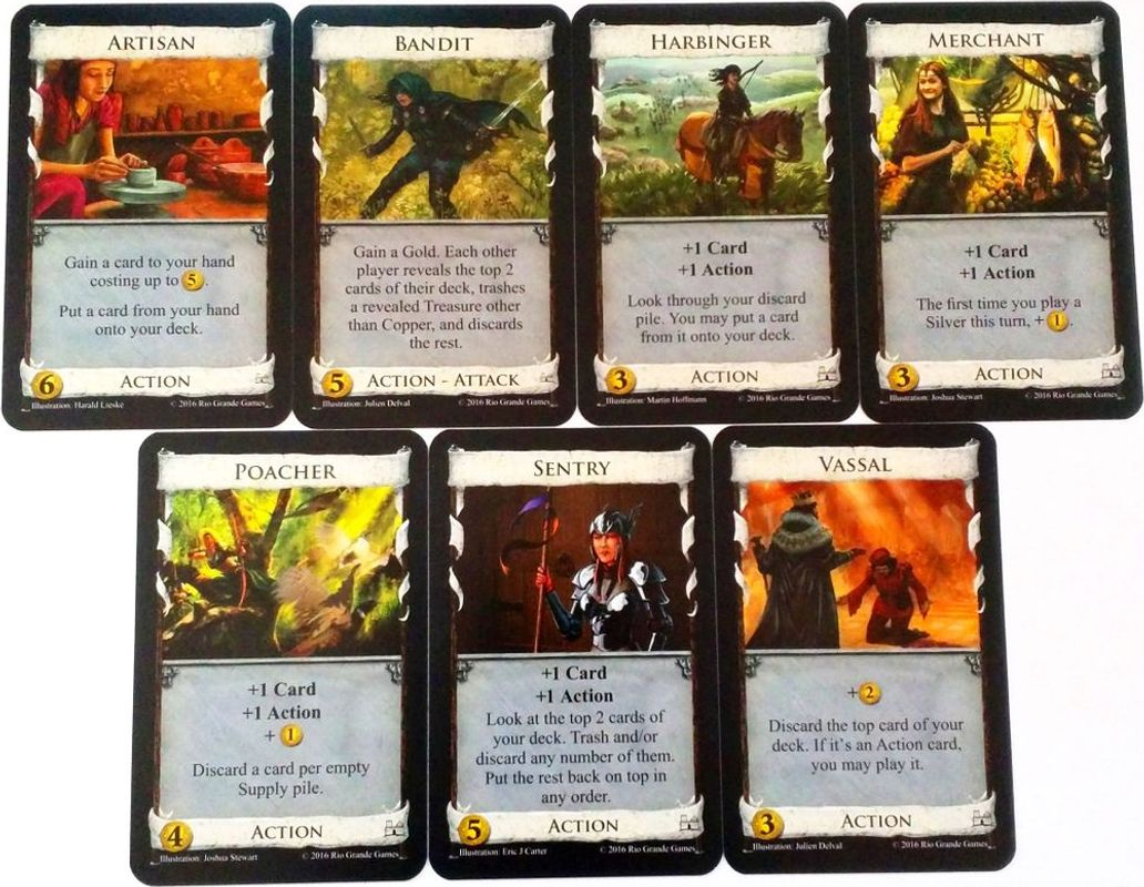 Dominion: Update Pack cards