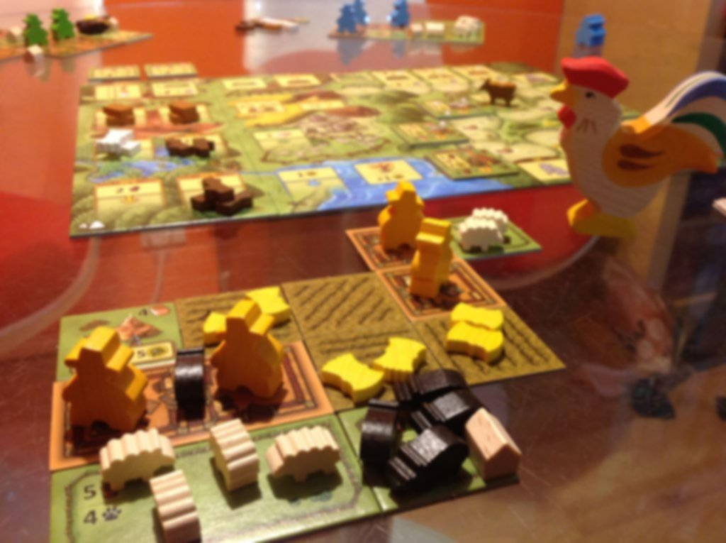 Agricola: Family Edition gameplay