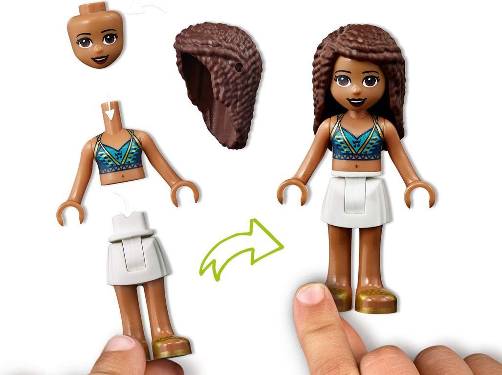 Beach House minifigures
