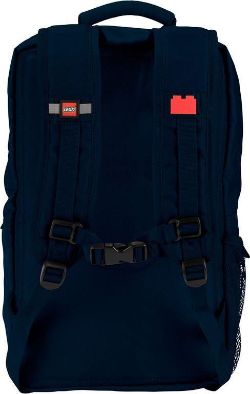 Brick Backpack – Navy back side