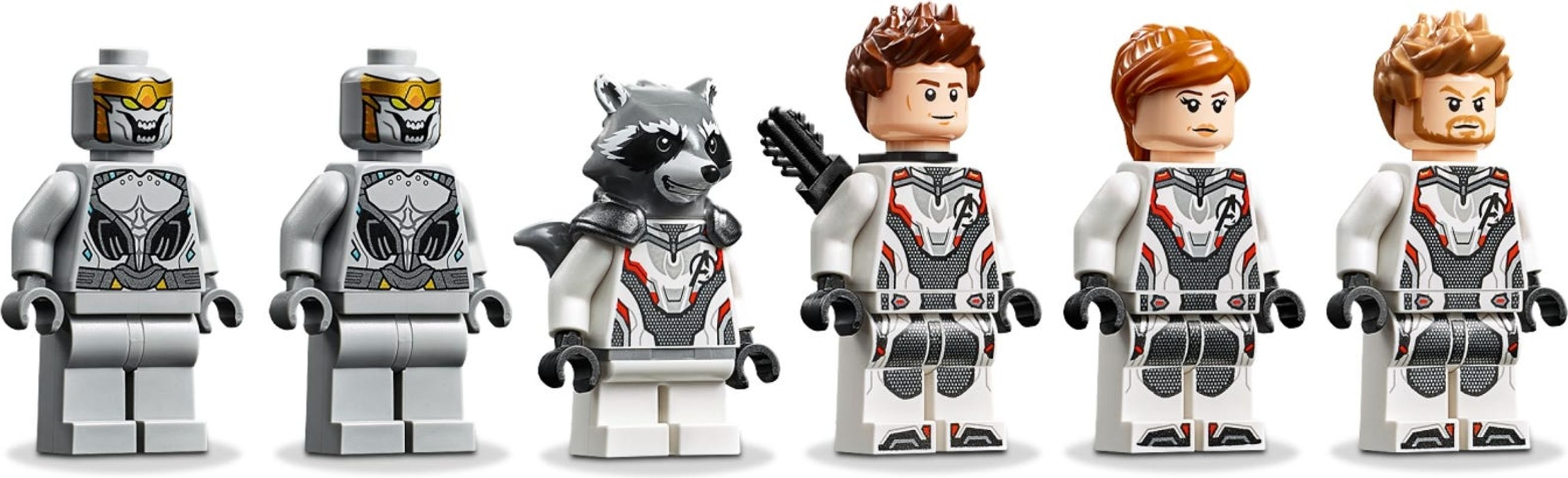 Avengers Ultimate Quinjet minifigures
