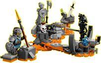 Skull Sorcerer's Dragon minifigures