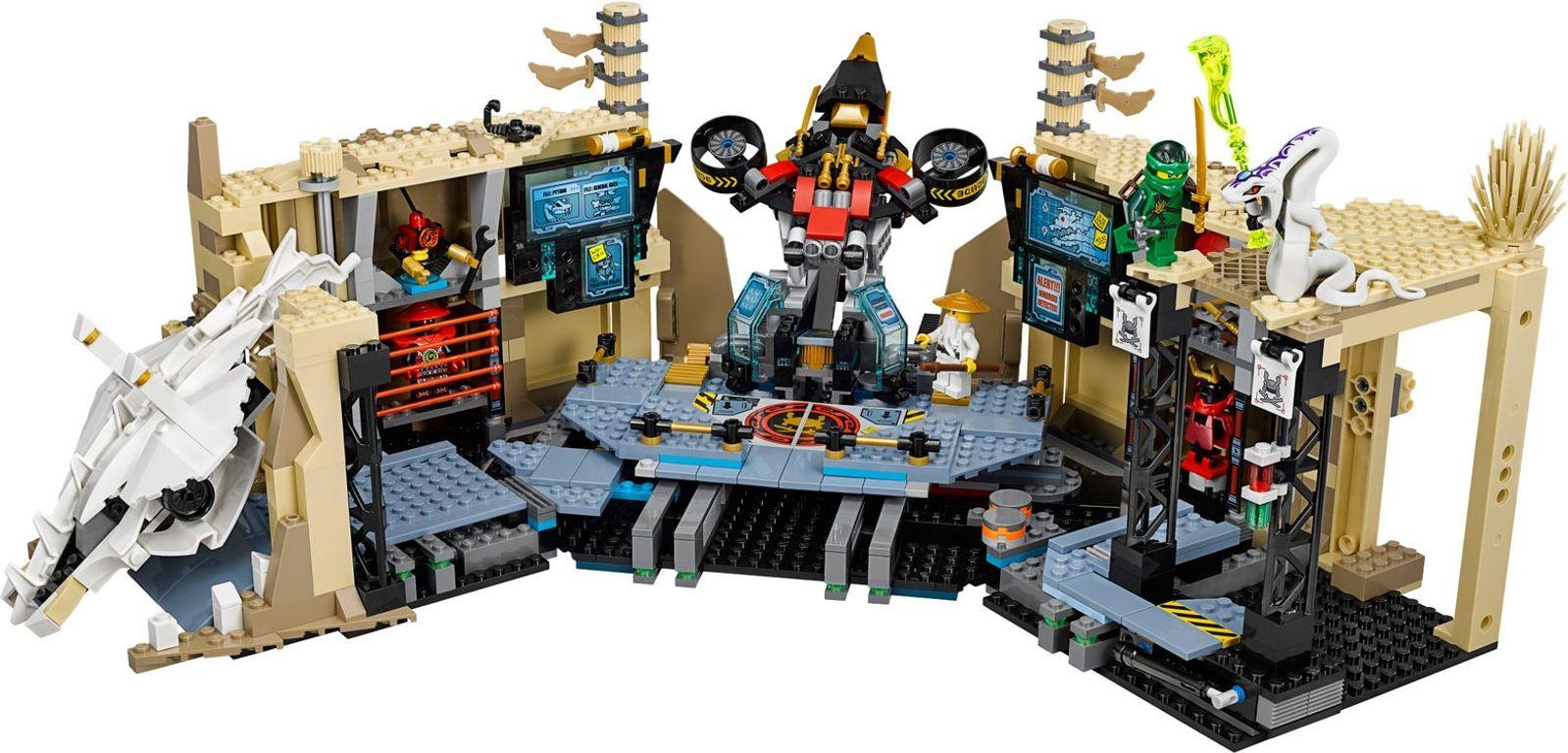 LEGO® Ninjago Samurai X Cave Chaos components
