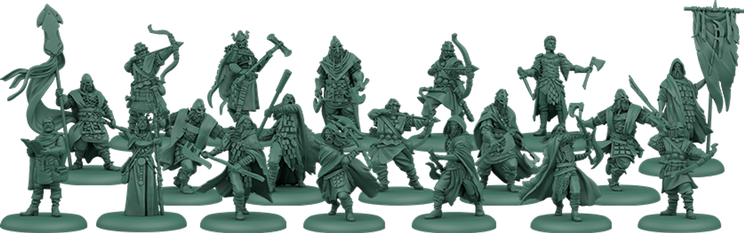 A Song of Ice & Fire: Tabletop Miniatures Game – Greyjoy Starter Set miniatures