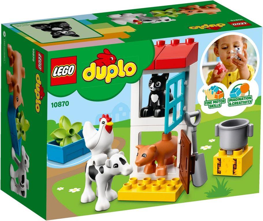 LEGO® DUPLO® Farm Animals back of the box