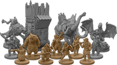 The Lord of the Rings: Journeys in Middle-Earth – Spreading War Expansion miniatures