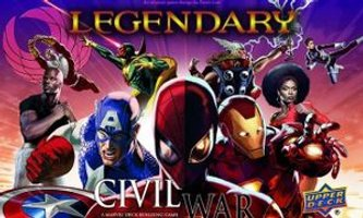 Legendary: Marvel Deck Building Game - Civil War