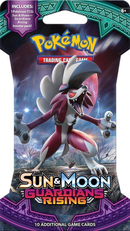 Pokémon TCG: Sun & Moon-Guardians Rising Sleeved Booster Pack box