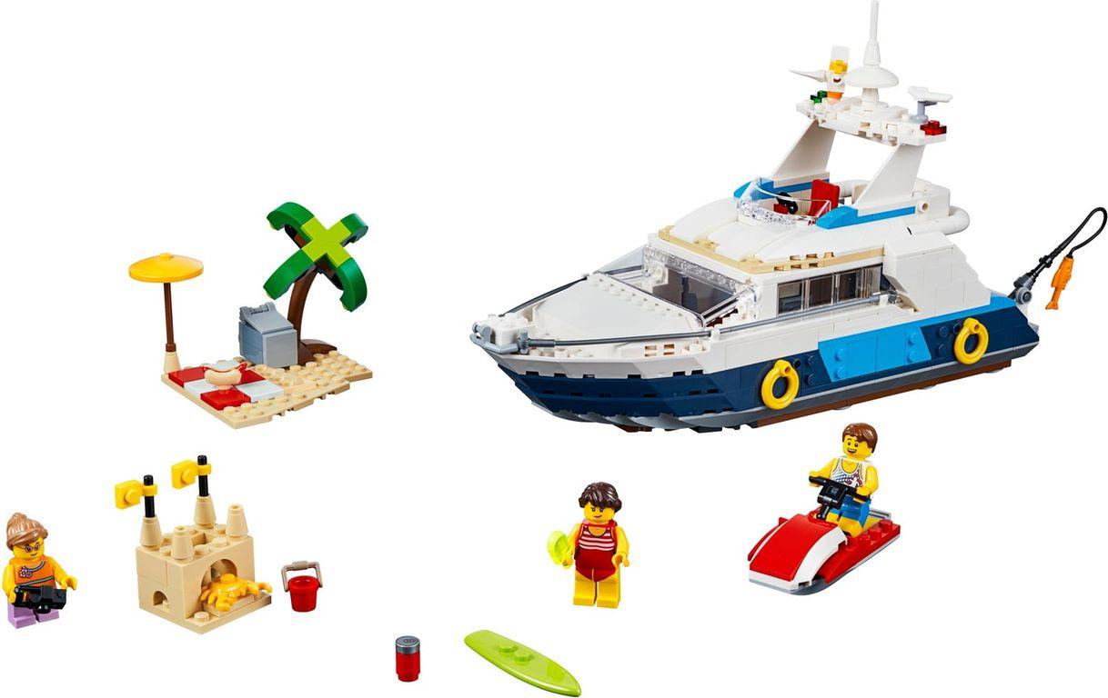 LEGO® Creator Cruising Adventures components