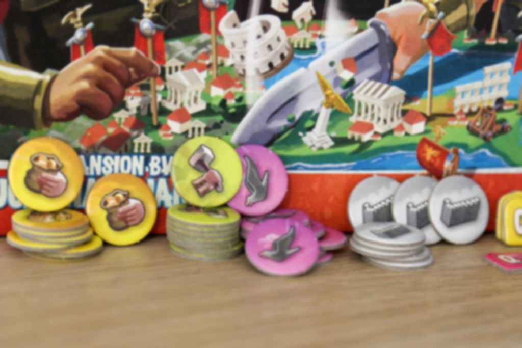 Imperial Settlers: Rise of the Empire components