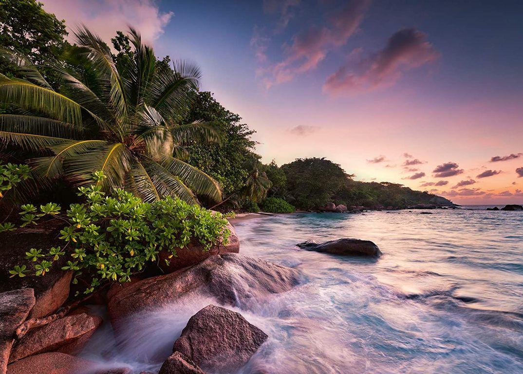 Praslin Island on the Seychelles