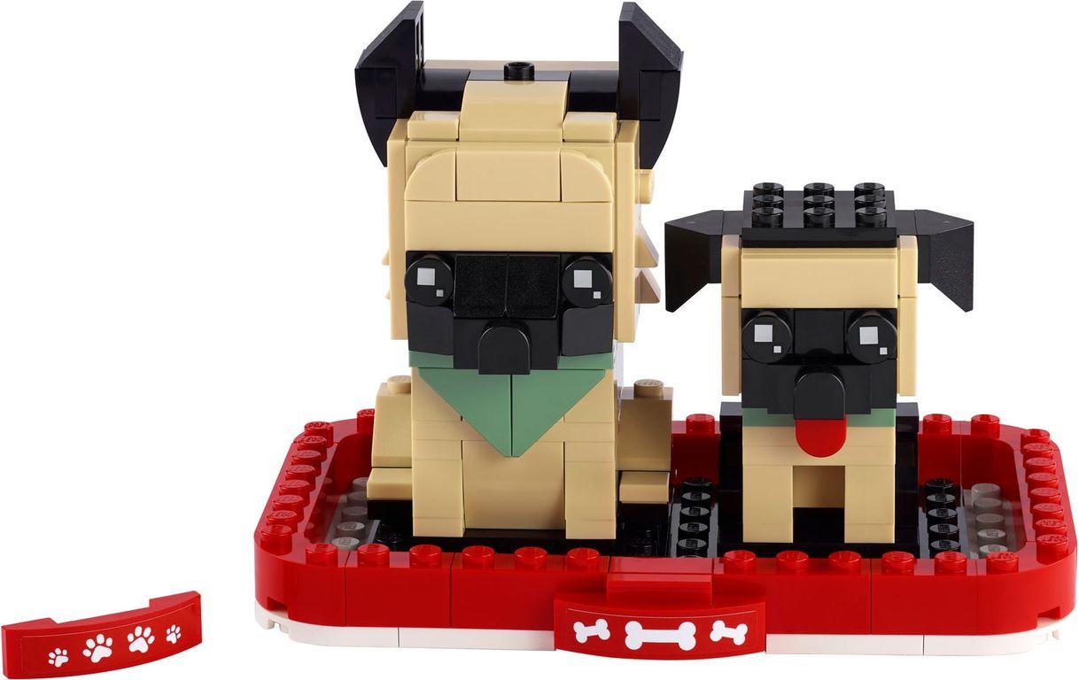 LEGO® BrickHeadz™ German Shepherd components