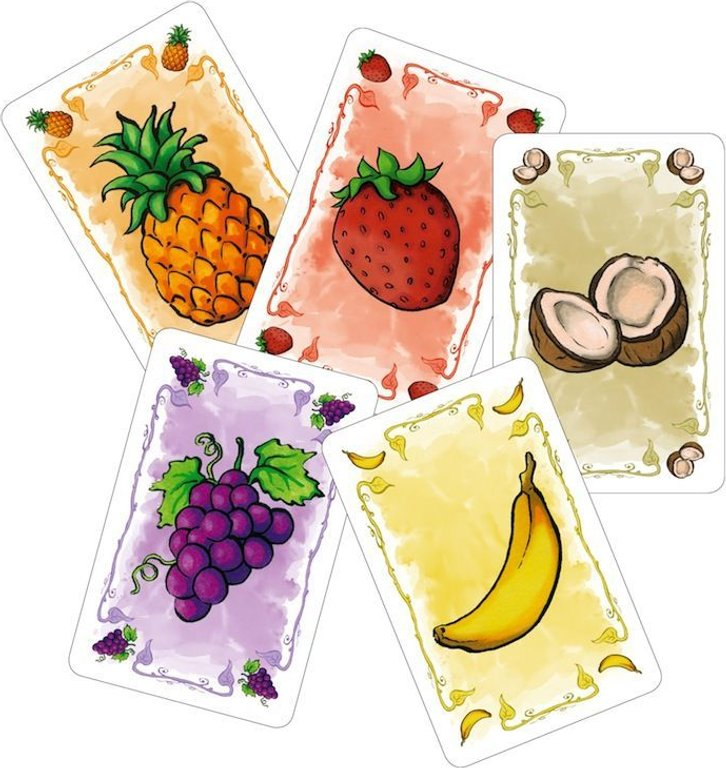 Fabled Fruit cards