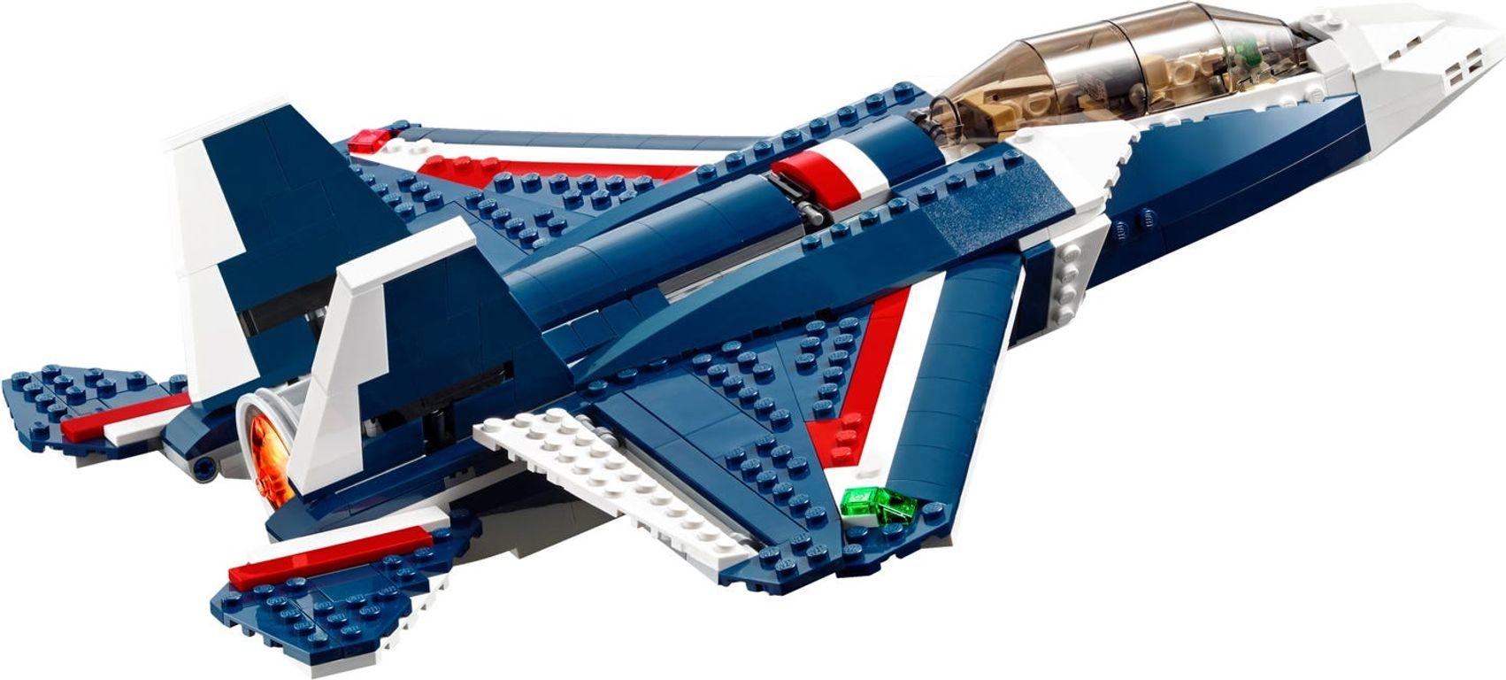 Blue Power Jet back side