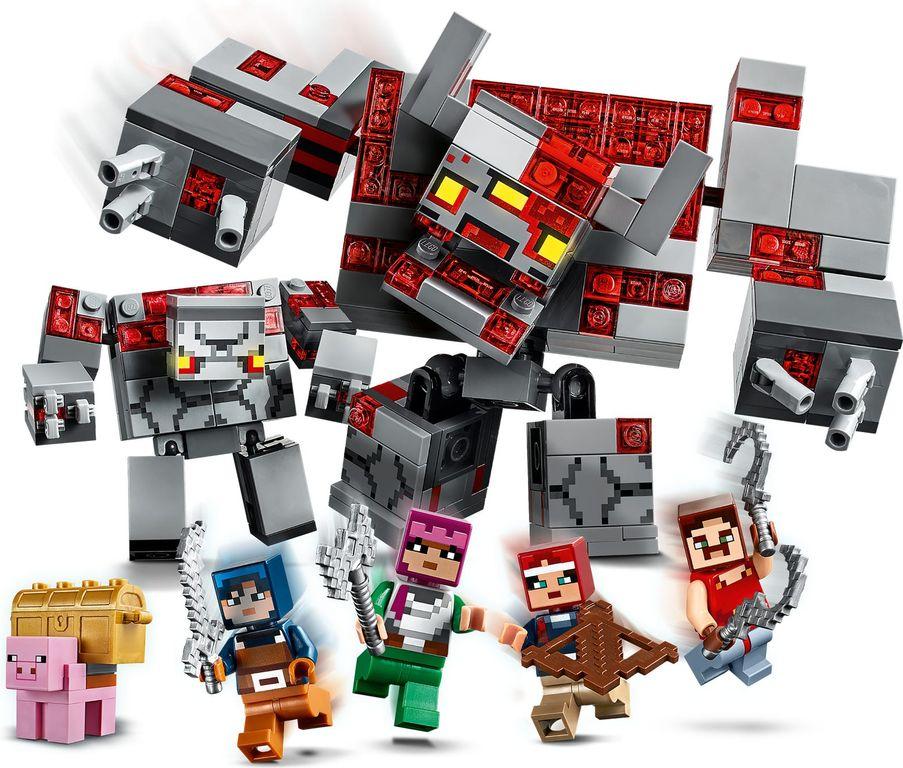 LEGO® Minecraft The Redstone Battle gameplay