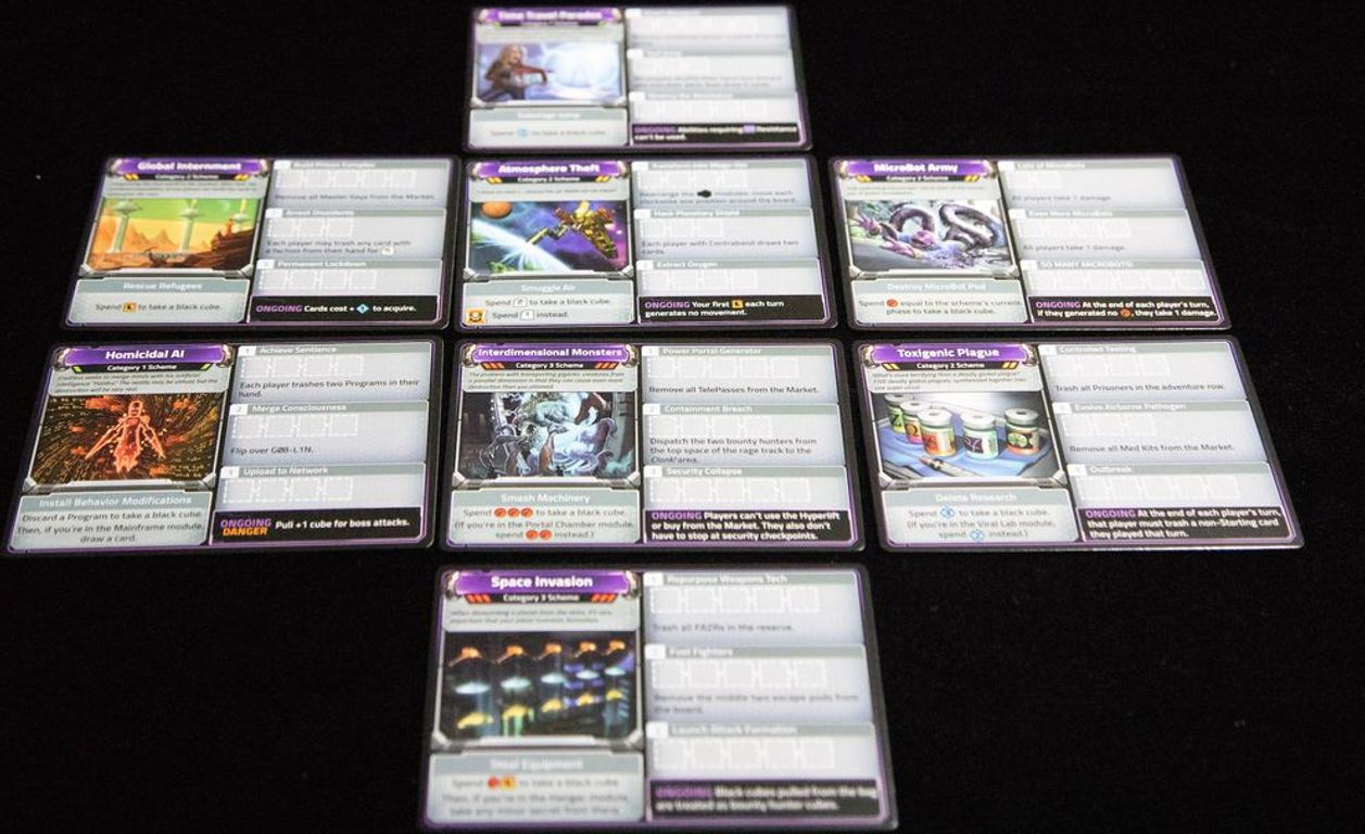 Clank! In! Space! Apocalypse! cards