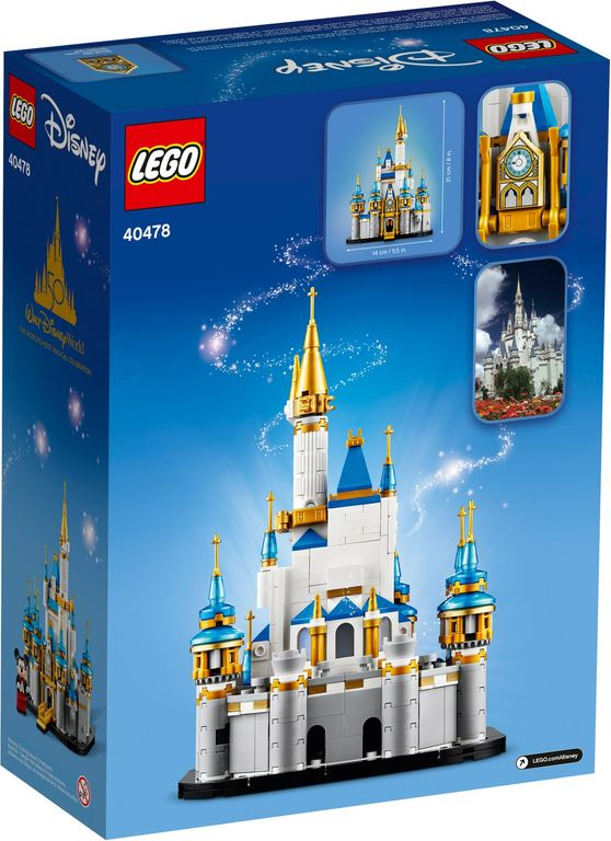 LEGO® Disney Mini Disney Castle back of the box