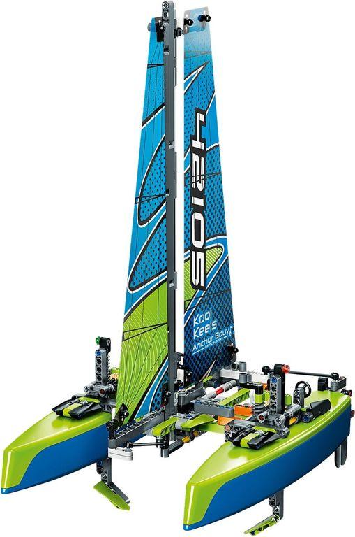 LEGO® Technic Catamaran components