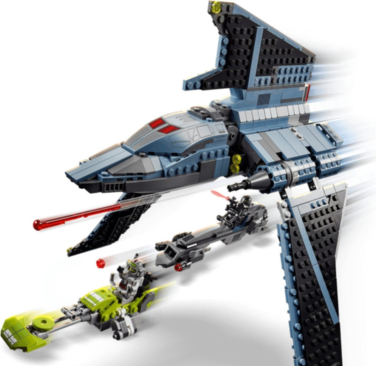 LEGO® Star Wars The Bad Batch™ Attack Shuttle gameplay