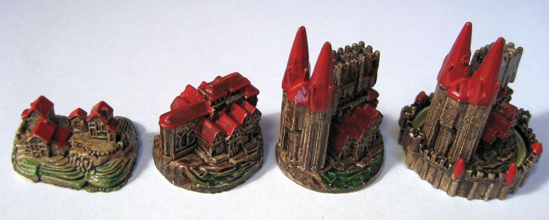 CATAN 3D Collector's Edition components