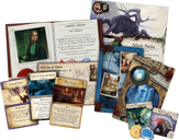 Eldritch Horror: The Dreamlands components