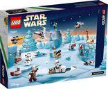 LEGO® Star Wars Advent Calendar 2021 back of the box