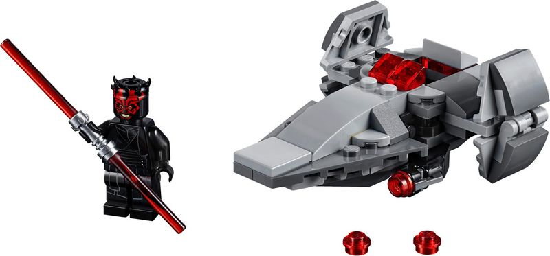 LEGO® Star Wars Sith Infiltrator™ Microfighter components