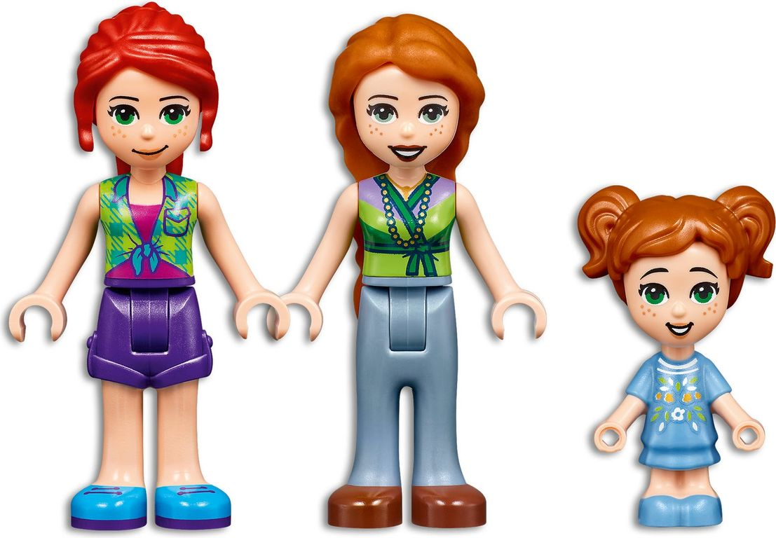 LEGO® Friends Forest House minifigures