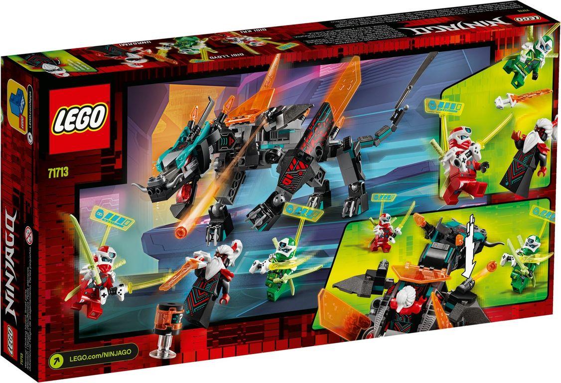 LEGO® Ninjago Empire Dragon back of the box