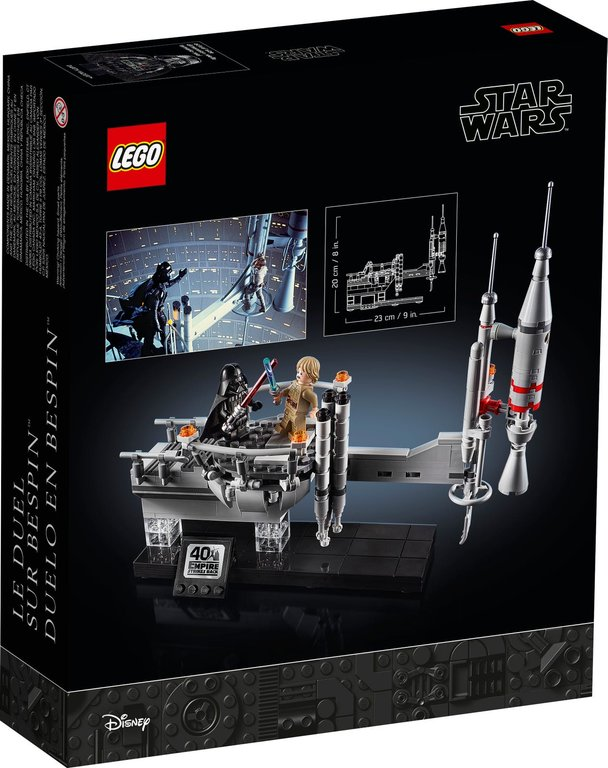 LEGO® Star Wars Bespin Duel back of the box