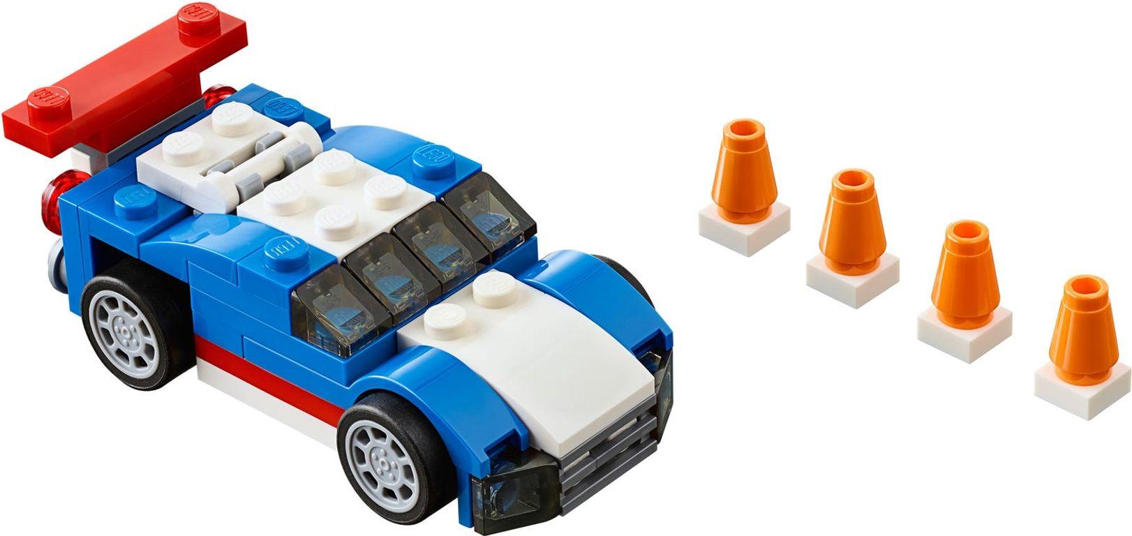 Blue Racer components