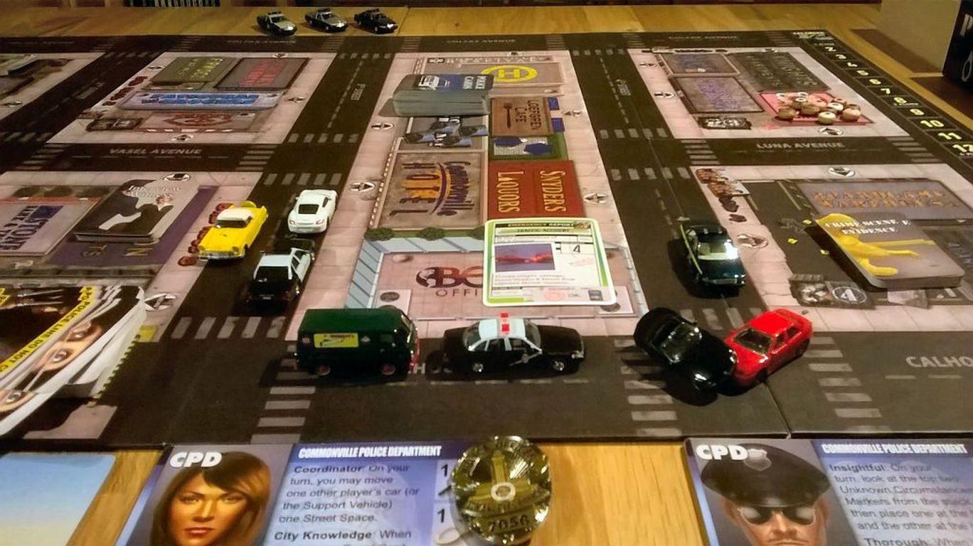 Police Precinct components