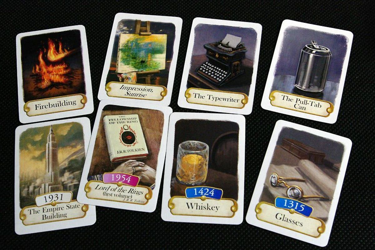Timeline: Inventions cards