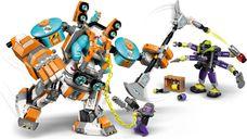 LEGO® Monkie Kid Sandy's Power Loader Mech gameplay