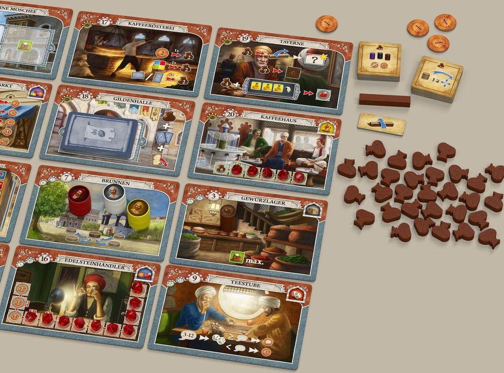 Istanbul: Mocha & Baksheesh gameplay
