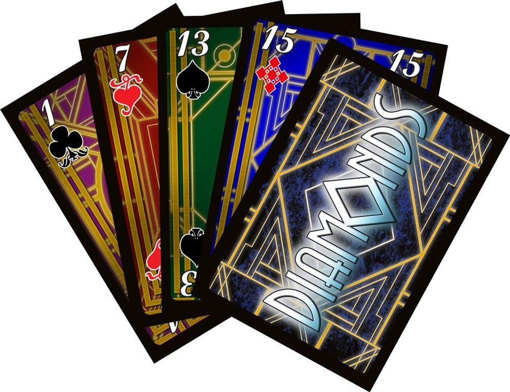 Diamonds cards