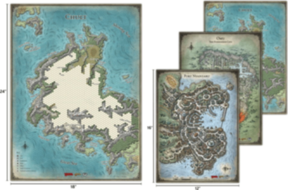 Tomb of Annihilation Map Set