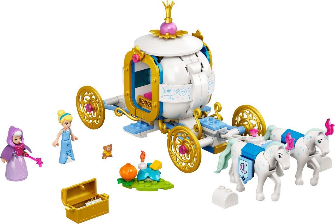 LEGO® Disney Cinderella's Royal Carriage components